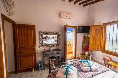 The Cabrera Suite bedroom