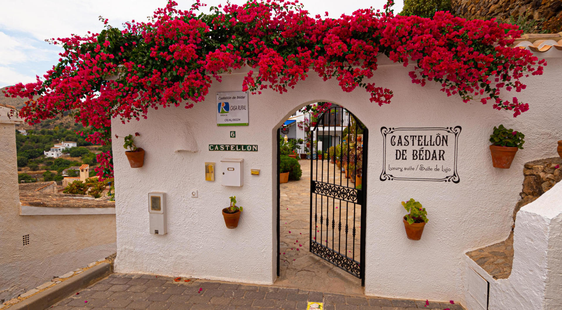 Castellon de Bédar Guest House and Bespoke Jewellery by Clare in Bédar, Almería, Spain